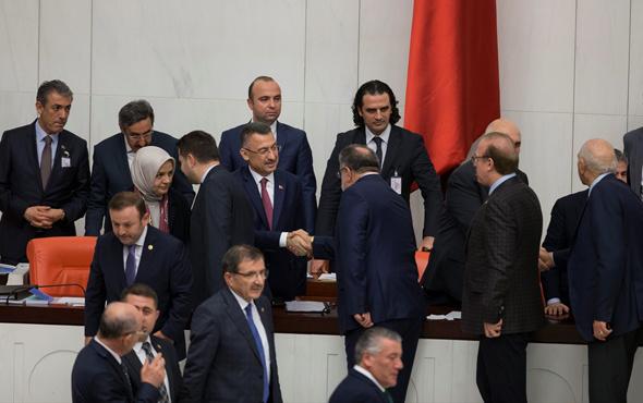 2019 yılı bütçesi 335 'evet' oyuyla kabul edildi