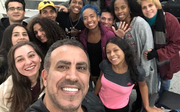Haluk Levent'ten Kolombiyalı dansçılara müjdeli haber!