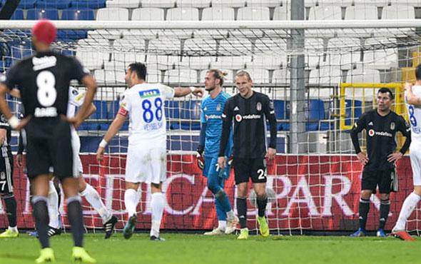 Beşiktaş son 10 haftada çöktü