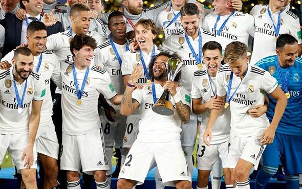 Real Madrid'den rekor! 4. kez dünyanın en büyüğü
