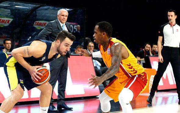 Potada dev derbi! Fenerbahçe Beko Galatasaray'a konuk oluyor