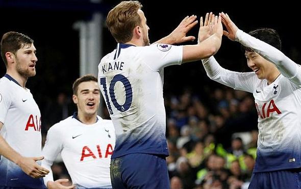 Tottenham'dan yarım düzine gol