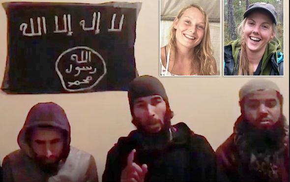 İki turist IŞİD tarafından vahşice öldürüldü!