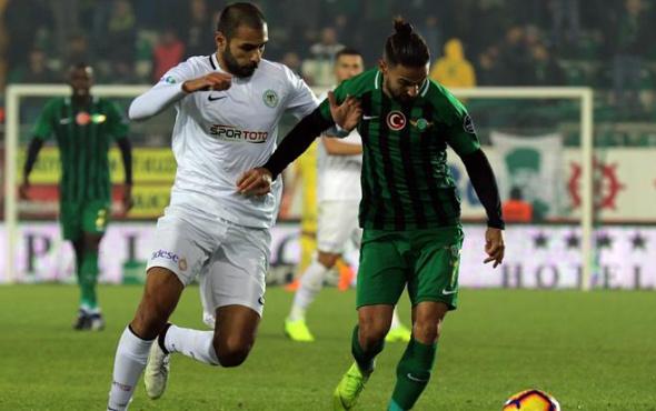 Akhisarspor Konyaspor maçı başladığı gibi bitti!
