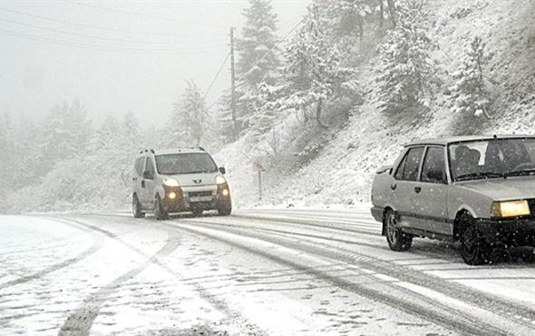Kastamonu'da 38 köy yolu ulaşıma kapandı