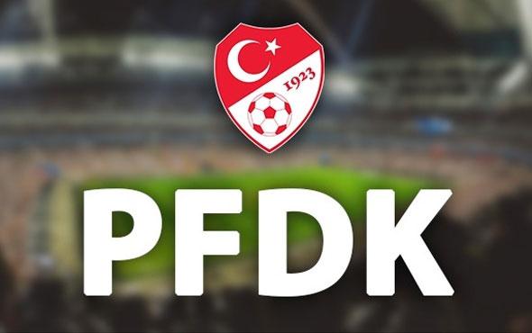 PFDK kararları açıklandı Fenerbahçe ihtar aldı
