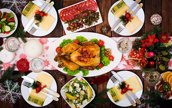Yılbaşı menüsünde dikkat edilmesi gereken yiyecekler