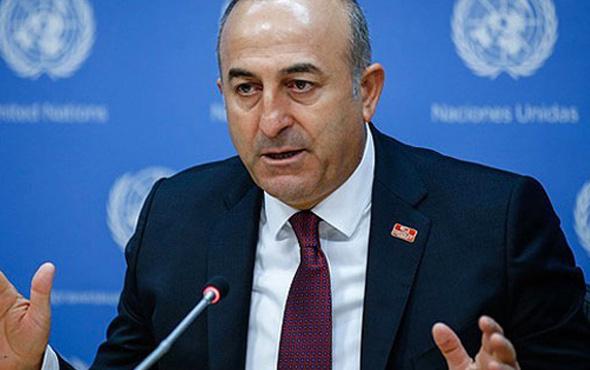 Bakan Mevlüt Çavuşoğlu'ndan Suriye açıklaması