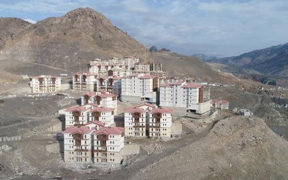 Yusufeli'nde yeni ilçe inşa ediliyor