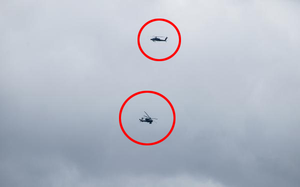 Münbiç'te hareketlilik ABD helikopteri alçak uçtu
