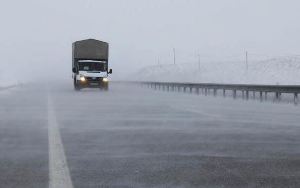 Meteorolojiden sis ve buzlanma uyarısı