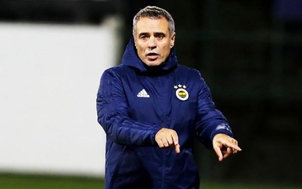 Ersun Yanal biletini kesti! Fenerbahçe'de ilk yarılık