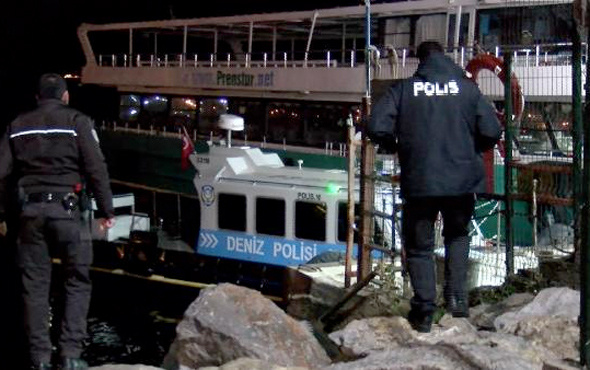 Kartal'da filika battı: 4 kişi boğulma tehlikesi atlattı