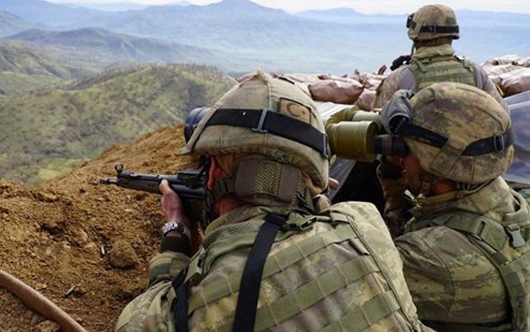 PKK'ya ağır darbe! 14 terörist öldürüldü