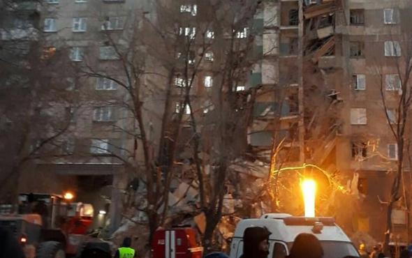 Rusya'da gaz patlaması ölüler var 79 kişiden haber alınamıyor