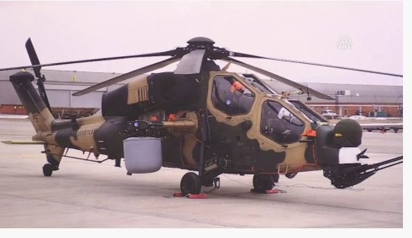 Türkiye'nin Atak helikopteri Pakistan yolunda