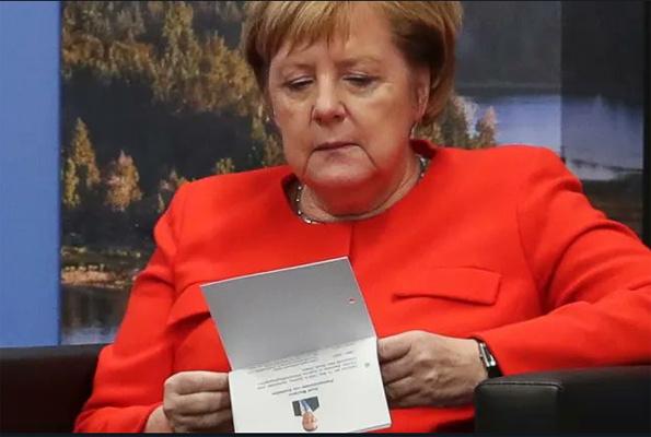 Merkel'den büyük ayıp Zirveye CV götürmüş
