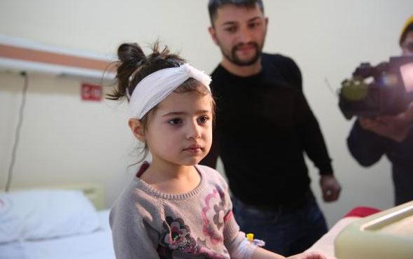 Minik Zeynep 'Biyonik kulak' ameliyatı oldu