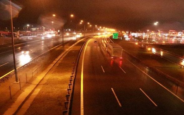 TEM otoyolu Ankara yönü trafiğe açıldı