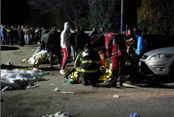 Gece kulübünde izdiham 6 kişi hayatını kaybetti