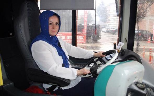 Düzce'de karı- koca otobüs şoförü