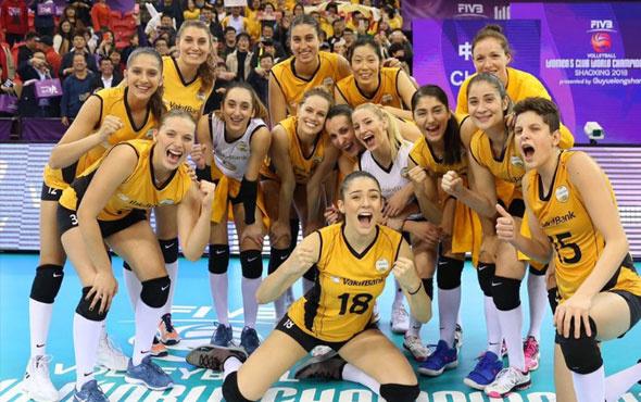 VakıfBank Kadın Voleybol Takımı dünya şampiyonu oldu