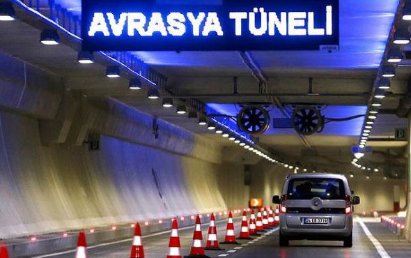 Avrasya Tüneli geçiş ücretindeki zamda sürpriz gelişme