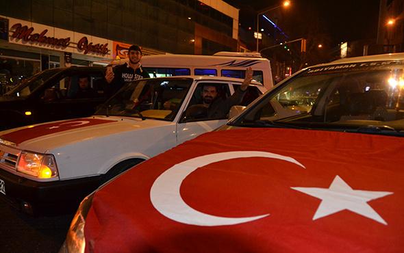 Zeytin Dalı harekatına destek konvoyu
