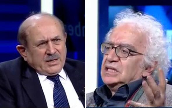 Burhan Kuzu ile Orhan Bursalı canlı yayında kapıştı