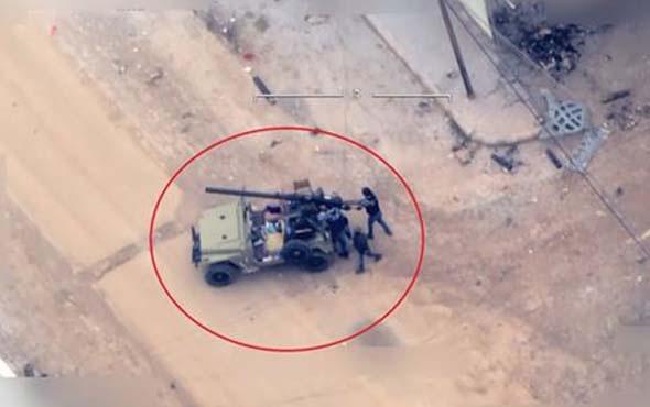 Türkiye'ye roket atan teröristler vuruldu! En net görüntüler