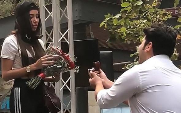 Evlilik teklifi reddedilen genç adamın dramı