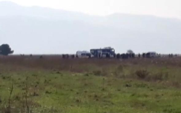 İzmir'de askeri uçak düştü! Şehit haberleri geliyor