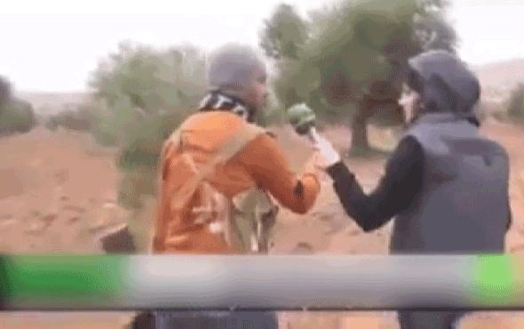 Afrin'deki teröristin sivil kıyafet itirafı