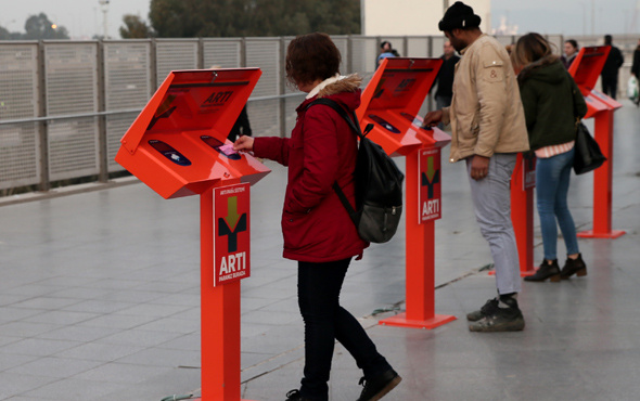 İzmir ulaşımında 'Artı Para' yoğunluğu