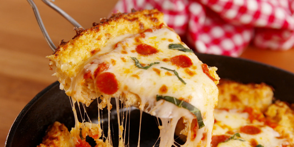 Sabahları pizza  yemek daha sağlıklı!