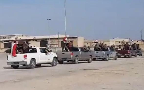 Türkiye uyarı atışı yaptı, Esad milisleri geri çekildi!