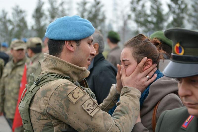 Cizre'de destan yazan timsahlar taburu Afrin'de