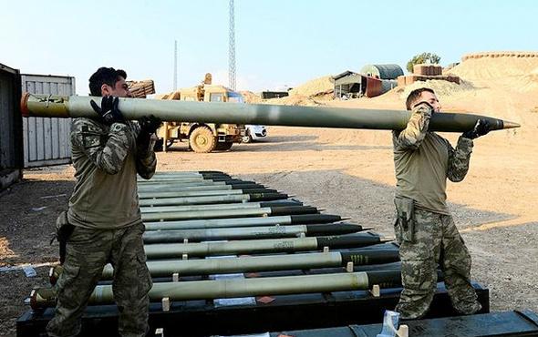 Afrin'de YPG'yi titreten silah 80 saniyede 40 roket