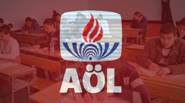 2018 AÖL sınavı ne zaman-AÖL sınav giriş belgesi alma