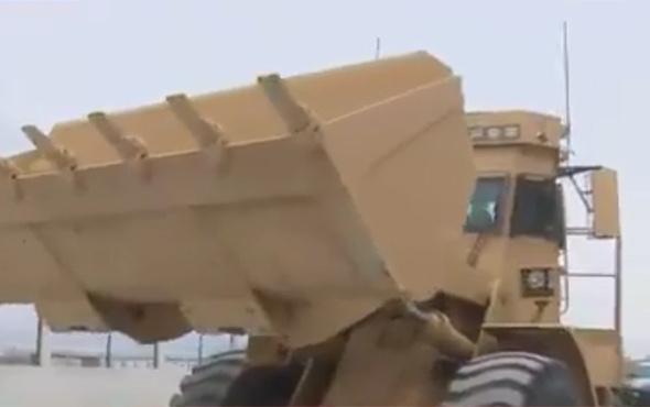 İnsansız kara araçları Zeytin Dalı Harekatında göreve hazır!
