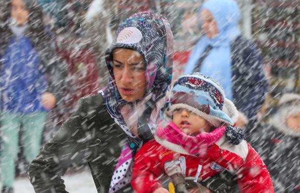 İstanbul'da kar kapıya dayandı saatlik hava durumu