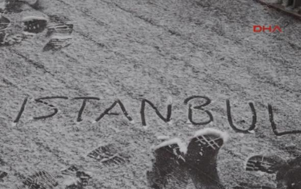 İstanbul'a kar erken geldi saatlik hava durumuna bakın!