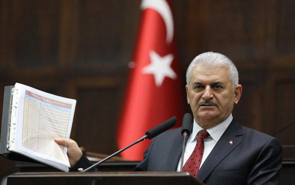Başbakan Yıldırım'dan CHP'nin iddiasına belgeli cevap