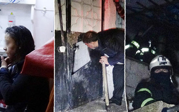 Genç kız sinir krizi geçirip evini yaktı: Altından dram çıktı!