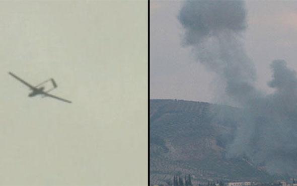 SİHA'lar buldu: Fırtına obüsler ve jetler vurdu!