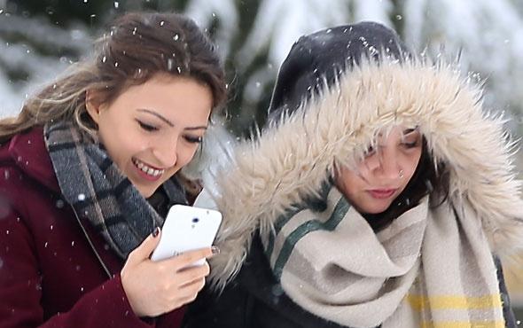 Karabük haritali 5 günlük hava durumu kar bastırdı