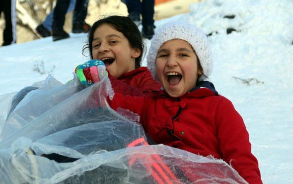 Bursa hava durumu kar devam ediyor