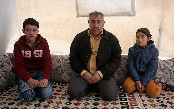 Suriyeli Kürt baba her şeyi bir bir anlattı