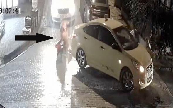 Taksi sürücüsü bebekli kadına çarptı sözleri dehşete düşürdü