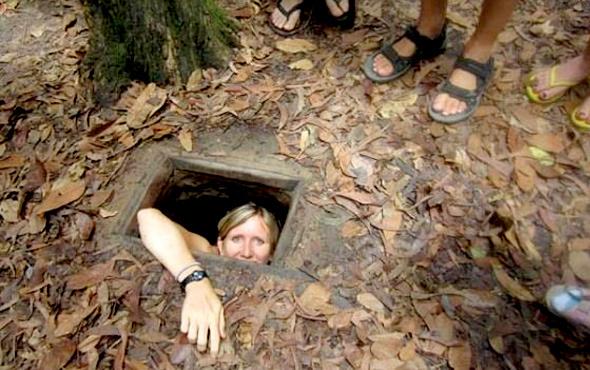 ABD'yi dize getiren tüneller! İçinde ne ararsan var